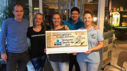 Dansmarathon brengt 1.500 euro op voor Foundation Jana De Koker