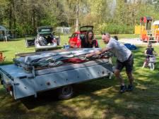 Veluwse campings zitten tsjokvol tijdens Paasweekend
