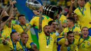 Dani Alves heeft na winst in Copa América uniek record beet