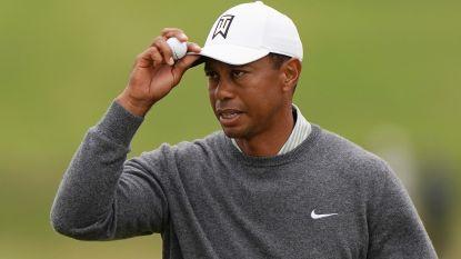Geen vierde wereldtitel voor Tiger Woods