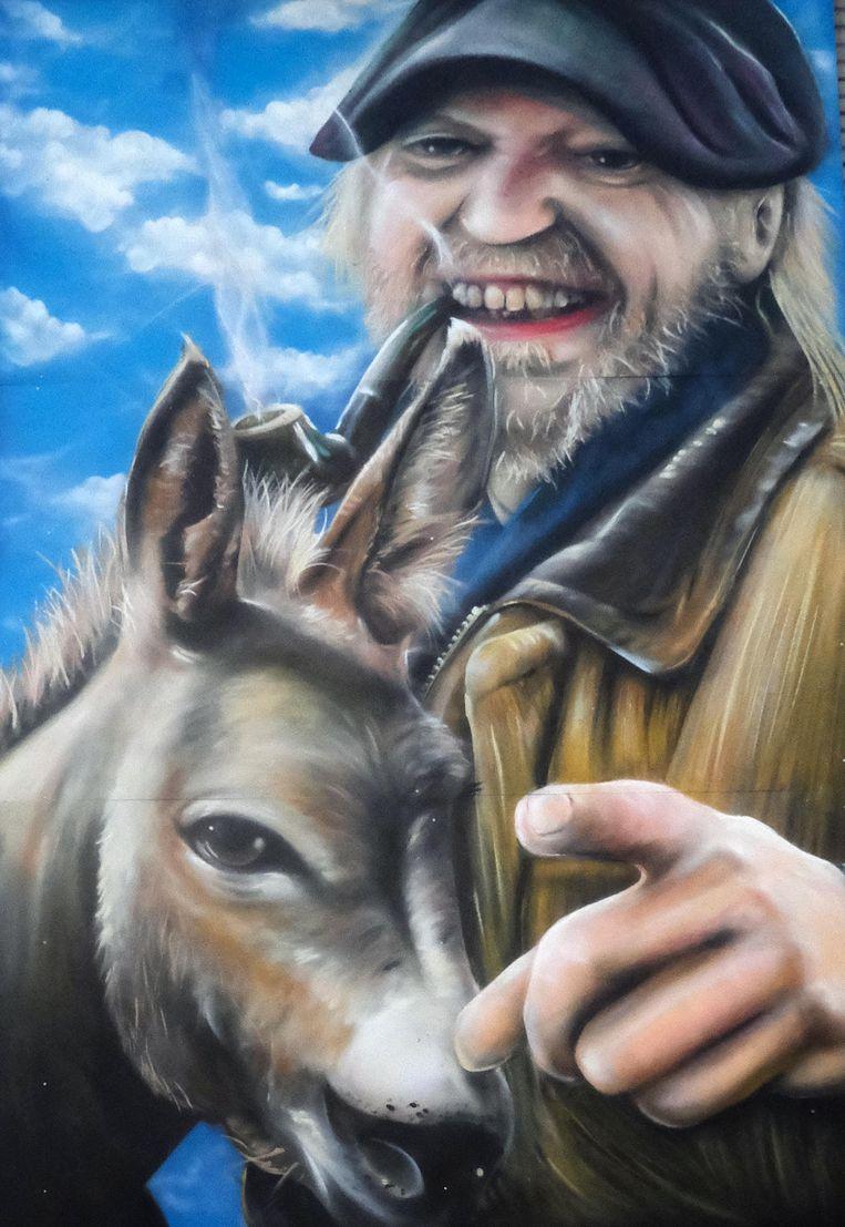 Het kunstwerk is van de hand van graffiti-artiest David Duits.