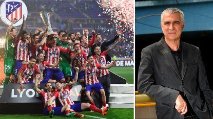 """Manu Ferrera blikt terug op Europa League-winst van Atlético Madrid: """"Of ik geslapen heb in het shirt van Atlético? Dat doe ik altijd"""""""