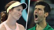"""Tennisster zet Djokovic op zijn plaats: """"Makkelijk voor iemand die al 125 miljoen verdiende om te zeggen wat wij moeten doen"""""""
