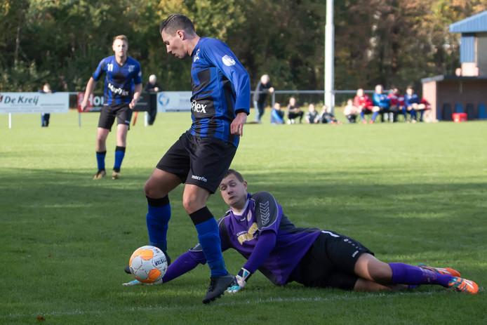 Smerdiek verloor zaterdag met 8-0 van Wieldrecht.