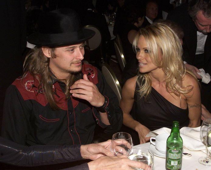 Pamela en Kid Rock, hier in 2002, trouwden meerdere keren.