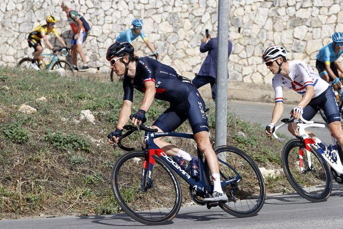 Grand favori au départ, Geraint Thomas a déjà perdu toutes ses chances de remporter le Giro.