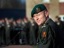 Hoogste baas commando's vertrekt na 'intensieve tijd'