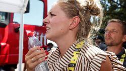 Onze man zat gisteren in het spoor van Wout van Aerts echtgenote Sarah De Bie: het relaas van een wezenloze dag