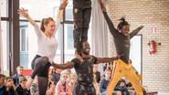 Acrobate bouwt circusschool in Guinee