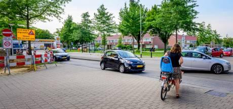 Verkeer loopt vast in Roosendaal