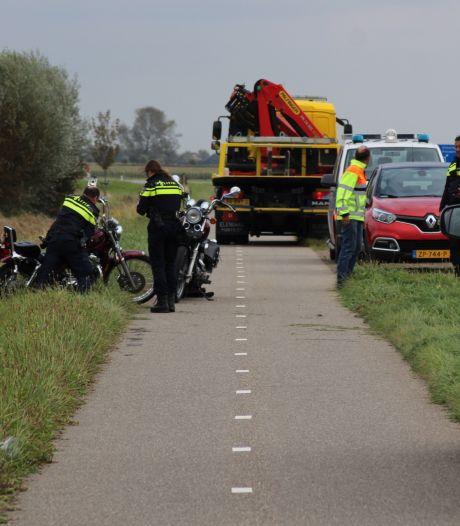 Motorrijder gewond bij ongeval in Noordgouwe