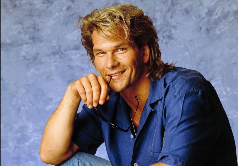 Patrick Swayze in 1990.