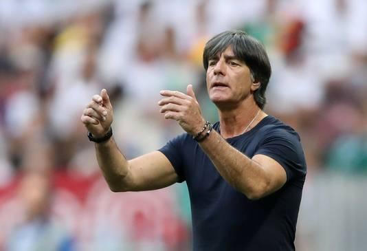Joachim Löw, sinds de zomer van 2006 al bondscoach van Duitsland.
