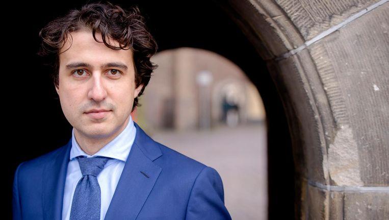 Jesse Klaver, fractievoorzitter en lijsttrekker van GroenLinks Beeld anp