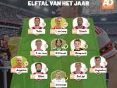 Ajax maakt de dienst uit in Elftal van het Jaar