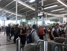 Minder treinen van en naar Utrecht Centraal door ongeluk