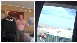 Hotelgast op 9e verdieping opent naakt de gordijnen en wordt opgepakt, krijgt nu 300.000 dollar