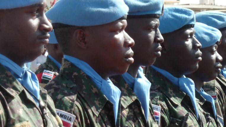 Medewerkers van UNAMID. © ANP Beeld