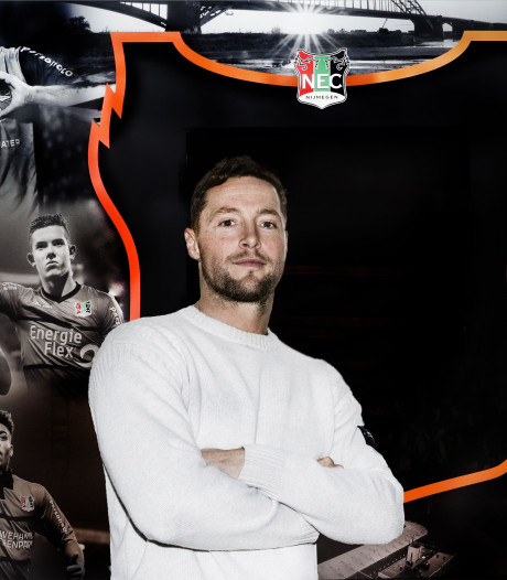 Rens van Eijden wil na rentree doorpakken met NEC: 'Hier bouw je niet op je gemak aan een elftal'