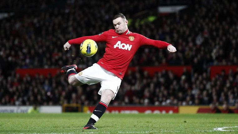 Er werd gevierd dat Rooney Engelands topscorer aller tijden was geworden. Beeld BBC