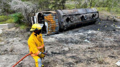 Zeven doden en tientallen gewonden na ontploffing tankwagen in Colombia