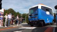 Zelfrijdende bussen brengt studenten naar de les