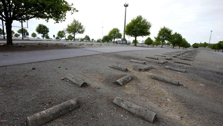 Op de parking C van de Heizel moet het nationale voetbalstadion verrijzen.