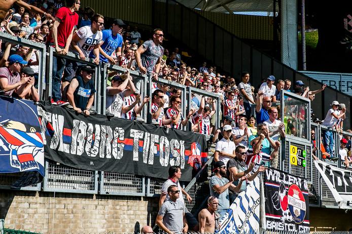 Willem II kan weer op veel steun rekenen bij een uitwedstrijd.