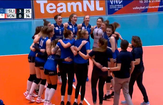Sliedrecht Sport won de bekerfinale van 2020.