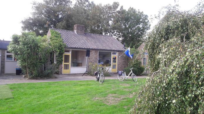 Het zogenoemde Kabouterhuisje aan het Hyacintenpad in Hengelo