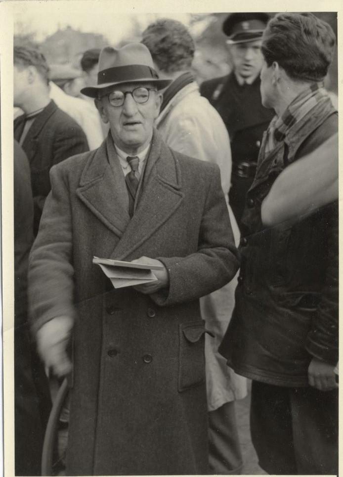 Coen de Koning net na de Tweede Wereldoorlog.