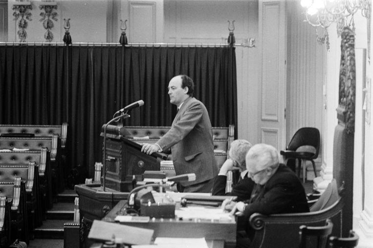 Aantjes in 1968 in de Tweede Kamer Beeld anp