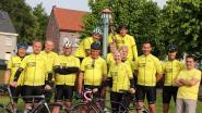 Ride2live rijdt 1.000 km ten voordele van Kom Op Tegen Kanker