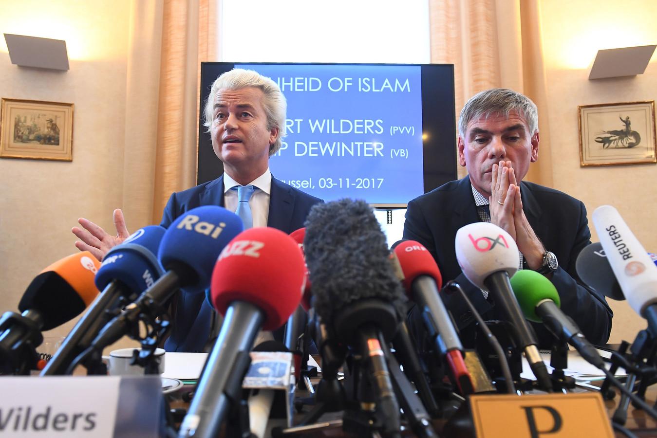 Politie Stuurt Filip Dewinter Weg Bij Molenbeek