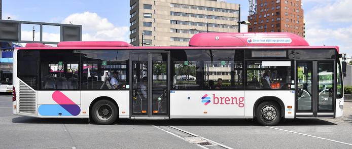 Gasbus van Breng in Nijmegen.