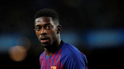 FC Barcelona is het beu: 100.000 euro boete voor 'laatkomer' Dembélé