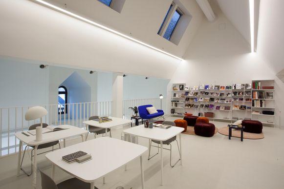 De nieuwe leeszaal van DIVA