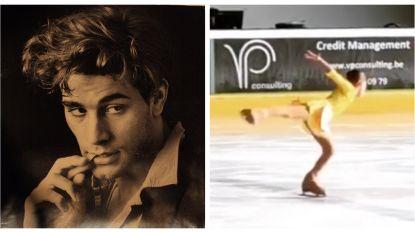 SHOWBITS. De dochters van Staf Coppens kunnen keigoed schaatsen en herken jij deze acteur in zijn jonge jaren?