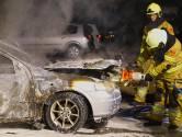 Onrust na drie weken terug: weer autobrand in Oss