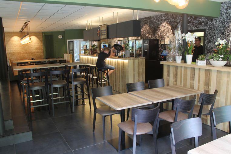 De vernieuwde cafetaria van Dilkom