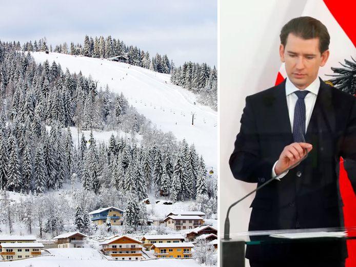 Bondskanselier Sebastian Kurz kondigde vanmiddag aan dat toeristen pas vanaf 7 januari welkom zijn in de Oostenrijkse skigebieden. Vanaf 24 december mogen skigebieden wel open voor inwoners.