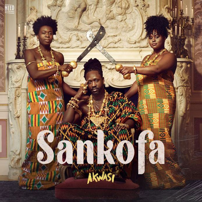 Rapper Akwasi ging terug naar zijn Ghanese roots voor zijn nieuwe album Sankofa. Door de coronacrisis is alles tot stilstand gekomen. Hij bedacht een alternatieve tourposter.