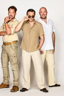 Dieter Troubleyn, Emiel de Jong en Zjon Smaal vaders in Mamma Mia!