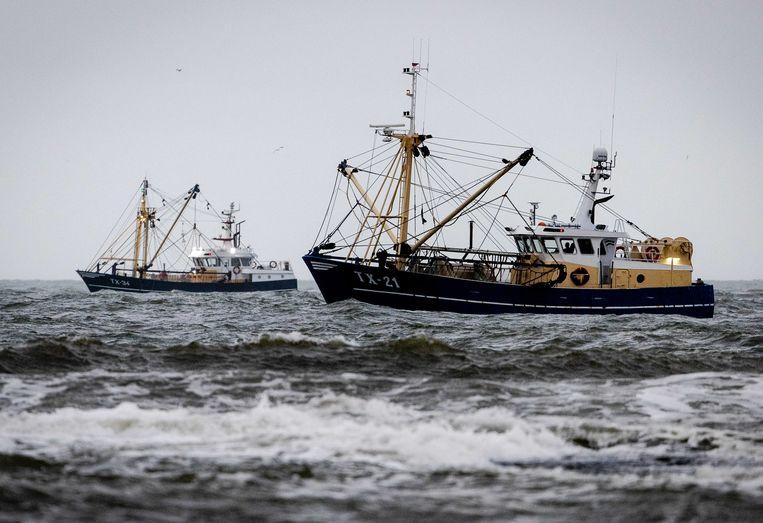 De zoekactie naar de vermiste vissersboot en de twee bemanningsleden. Beeld EPA