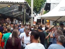 Het gaat los: enorm veel feestgangers in Nijmegen op laatste avond