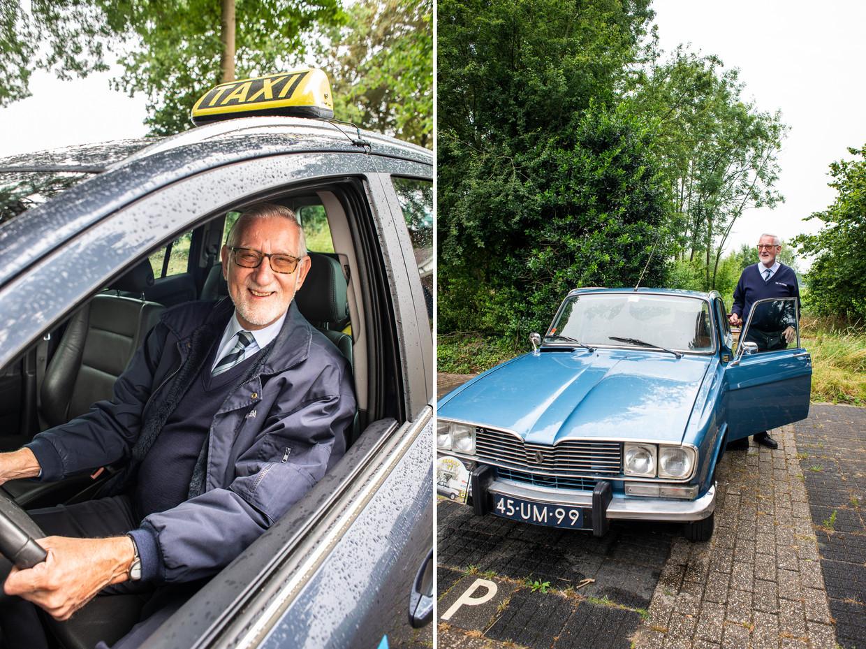 Taxichauffeur en autoliefhebber Hennie Westbroek.