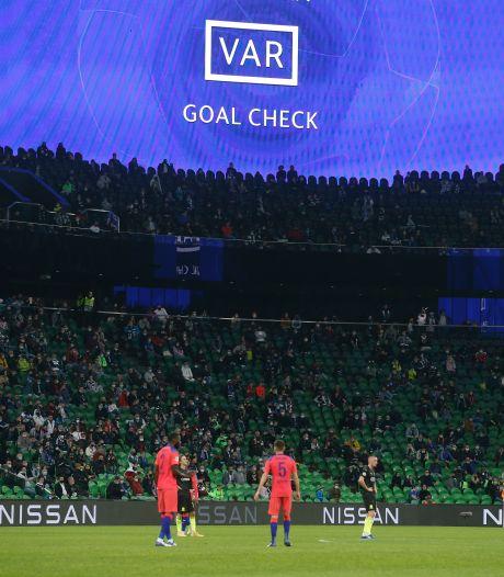 VAR opereert voor het eerst op afstand in Champions League