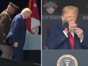 La santé de Trump en question après la diffusion d'une vidéo où il paraît en difficulté