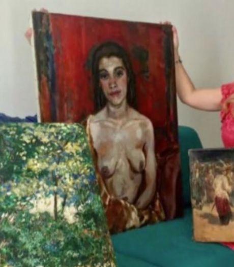 Laatste kunstwerken van spectaculaire kunstroof in Almelo nu ook terug