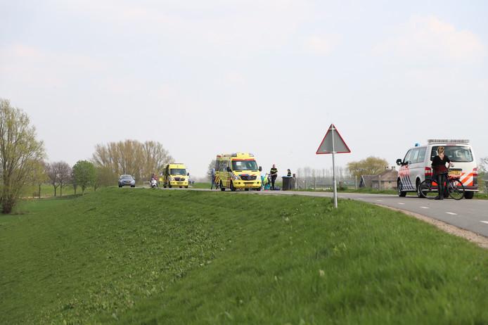 Wielrenner zwaargewond in Beusichem.